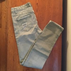 FREE PROPLE sage distressed jeans